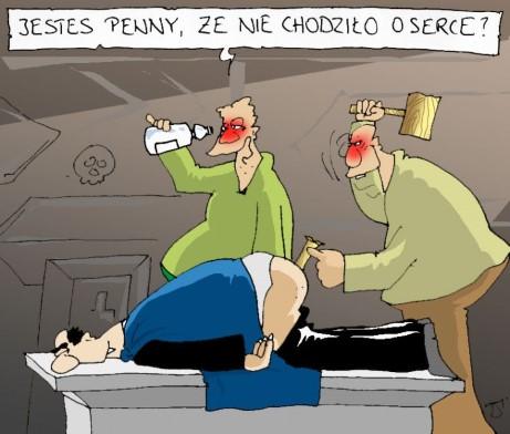 wampiry, alkoholicy, pijacy, przebijanie kołkiem osikowym, kołek w dupie